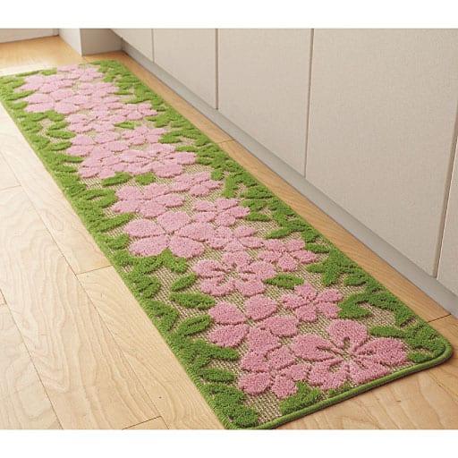 抗菌防臭キッチンマット(花畑シリーズ)の商品画像