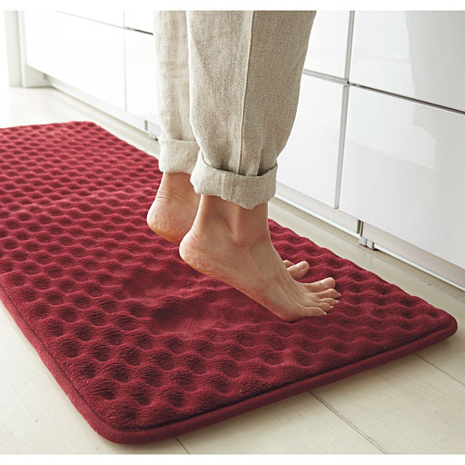 洗えるクッション性のよいキッチンマット(低反発)の商品画像