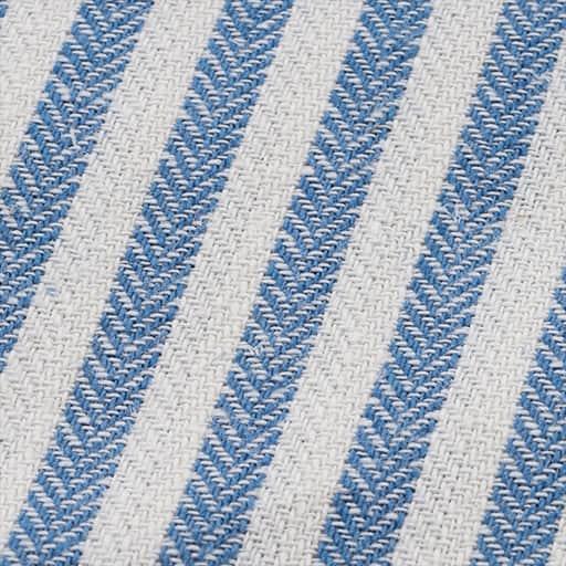 綿麻混ストライプの座布団カバー – セシール