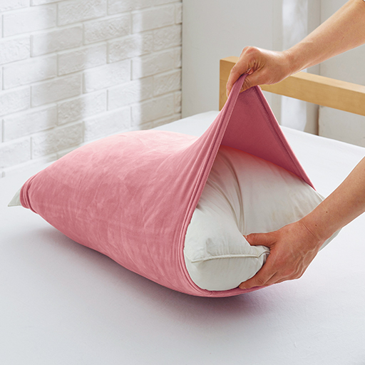 のびのび枕カバー(もちもちマイクロファイバー) – セシール