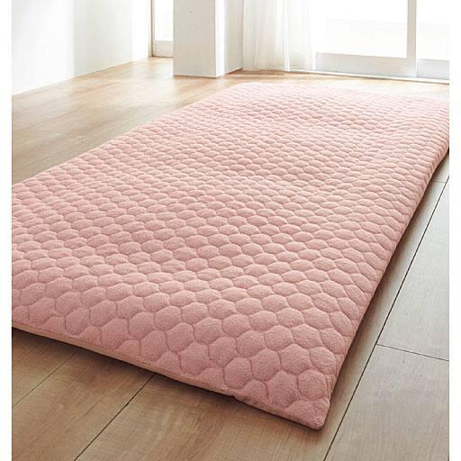 布団を包むマイヤータオル敷きパッド(敷布団カバー) - セシール