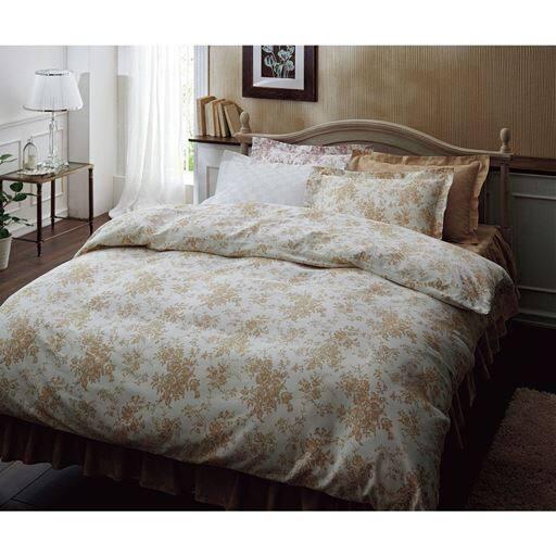 いつもの寝室がホテルに変わる。ホテル感覚の高密度掛け布団カバーの商品画像