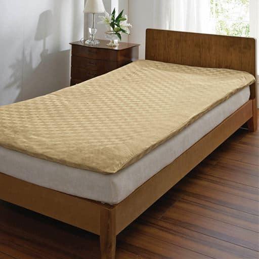 いつもの寝室がホテルに変わる。ホテル感覚の高密度敷き布団カバーと題した写真