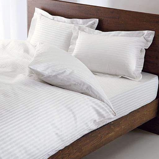 いつもの寝室がホテルに変わる。ホテル感覚の高密度敷き布団カバー – セシール