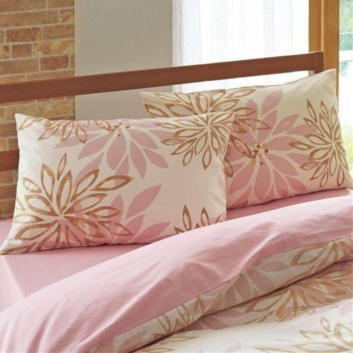 日本製綿100%枕カバー(同色2枚組)の写真