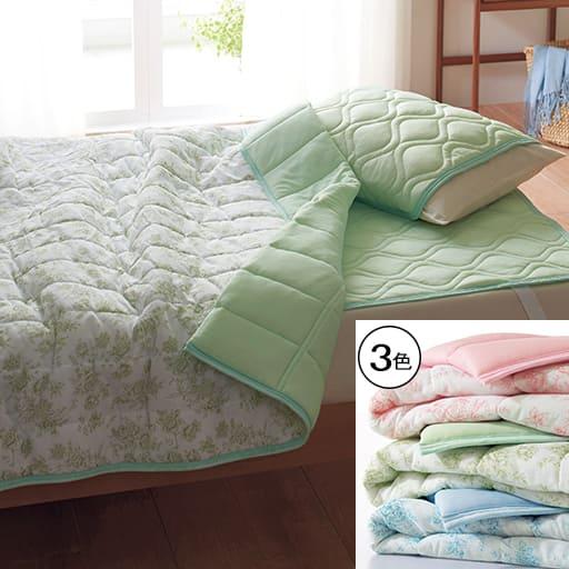 「厳しいお部屋環境の方におすすめ」涼感多機能枕パッド(同色2枚組)の商品画像