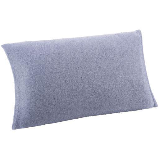 のびのびパイル枕カバー(無地)の写真