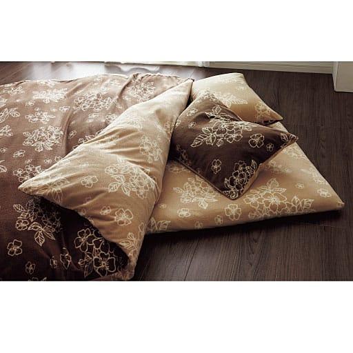 フリース枕カバー(同色2枚組) – セシール