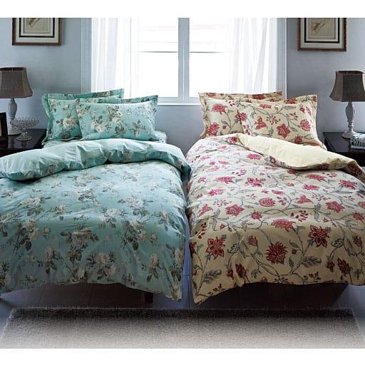しなやかさにうっとり、リッチな気分で眠れるしなやか綿サテンの掛け布団カバーの商品画像
