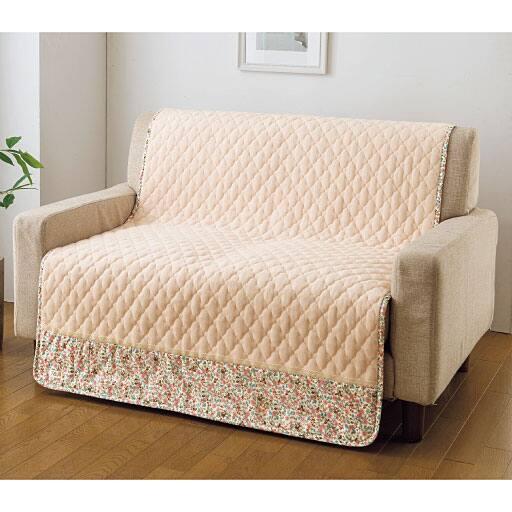 コットンパイル100%椅子・ソファカバー 肌に優しい綿100%ループパイル使用 ソファ・椅子のパッドシーツの商品画像