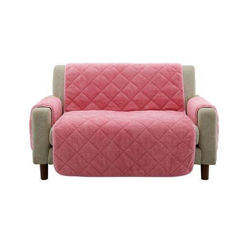 毛布のように暖か・なめらか・椅子カバー・ソファカバー(ソファパット)の写真