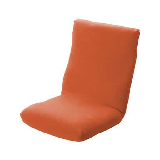 とろけるような肌ざわりマイクロフリースのびのび座椅子カバー・座面カバー(縦横ストレッチ)の写真