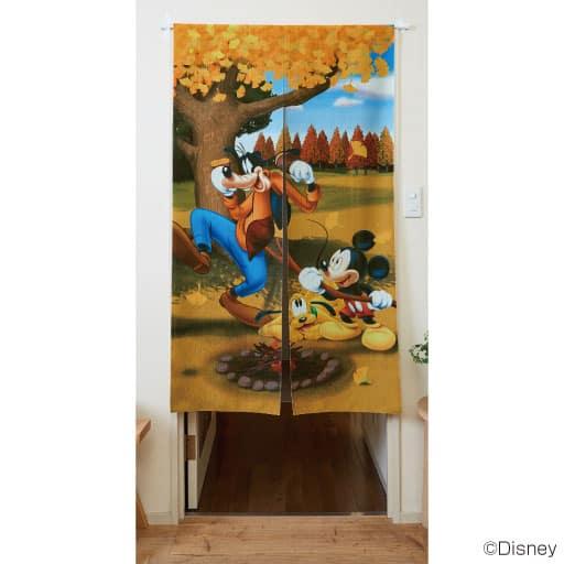 のれん ディズニー四季シリーズの商品画像