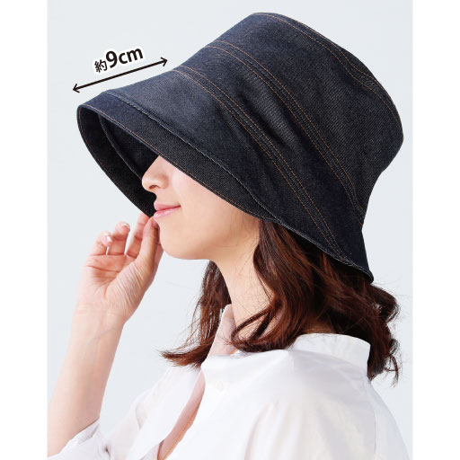 岡山児島デニムのおでかけ帽子の通販