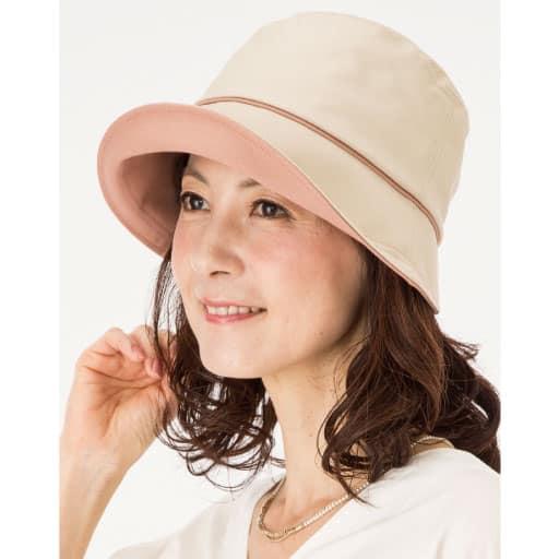 倉敷帆布おでかけ帽子 – セシール