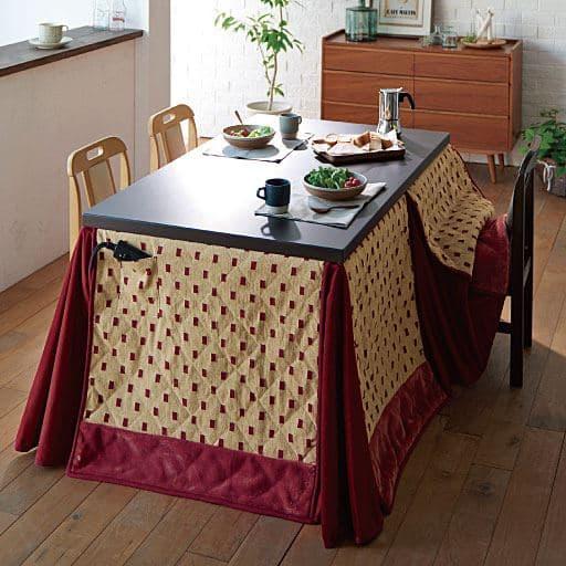 シェニール調ハイタイプ用省スペースこたつ掛け布団の商品画像