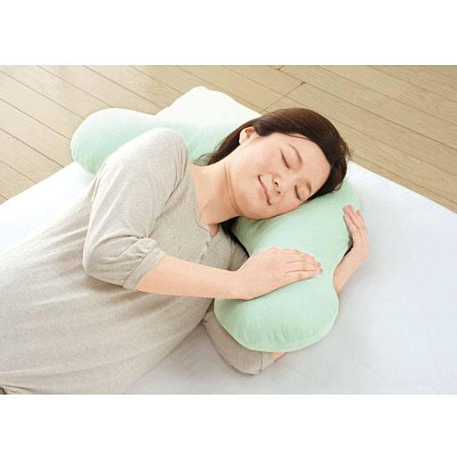横寝らくらく枕II(洗い替えカバー付き) – セシール