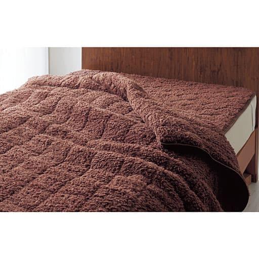 あったかシープ調わた入り毛布の写真