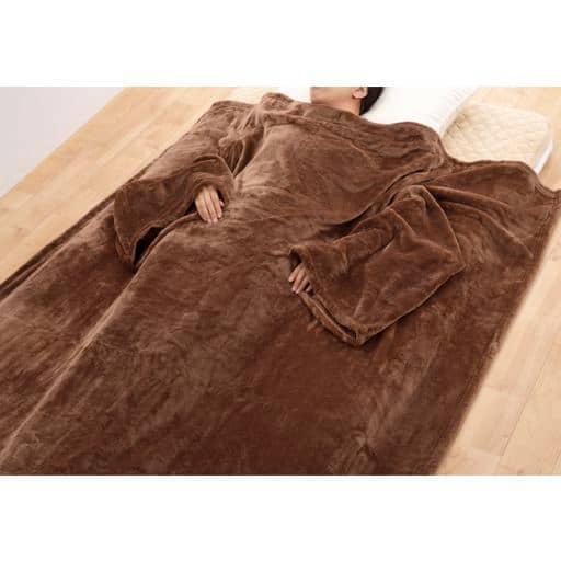 袖付毛布 - セシール