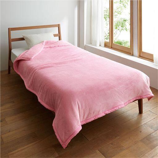 2枚合わせ毛布(高機能中わた素材入り) - セシール