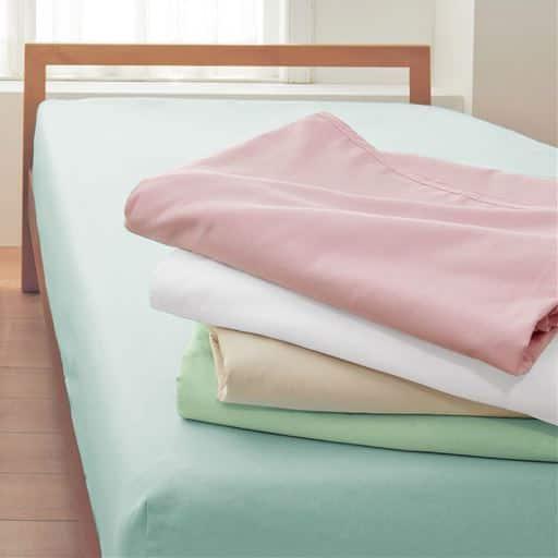 「毎日でもお洗濯したいから」丈夫な綿100%の平織りシーツの商品画像