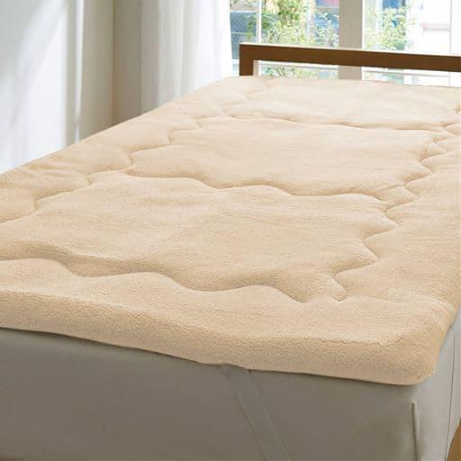 ふわふわ毛布生地で作ったふかふかボリュームパッドシーツの商品画像