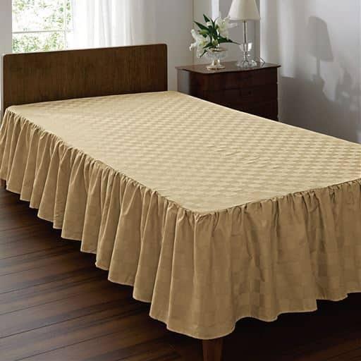 【レディース】 いつもの寝室がホテルに変わる。ホテル感覚の高密度置くだけベッドシーツの商品画像
