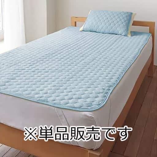 「かる-いコットンのタオルが使いやすい」ニットパイルパッドシーツ(敷きパッド)の商品画像
