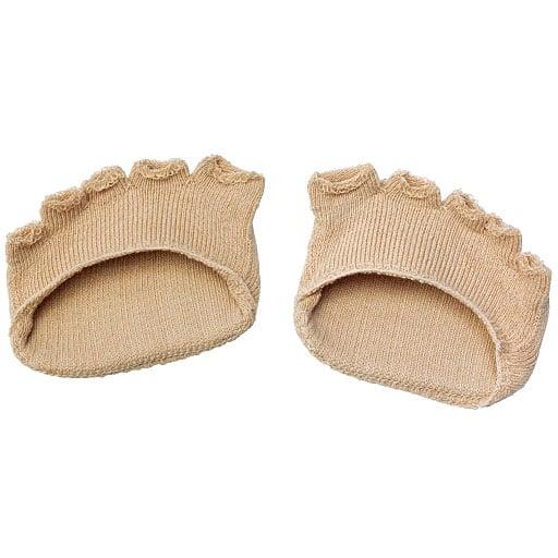 綿混サラリ 洗える足まめパッド(1足) – セシール