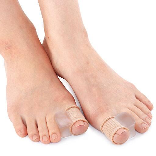 やわらゲル外反母趾ワイドタイプ(4個入) - セシール