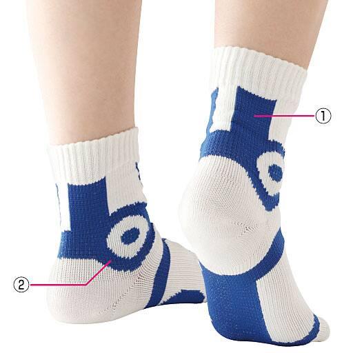 快歩テーピング靴下 - セシール