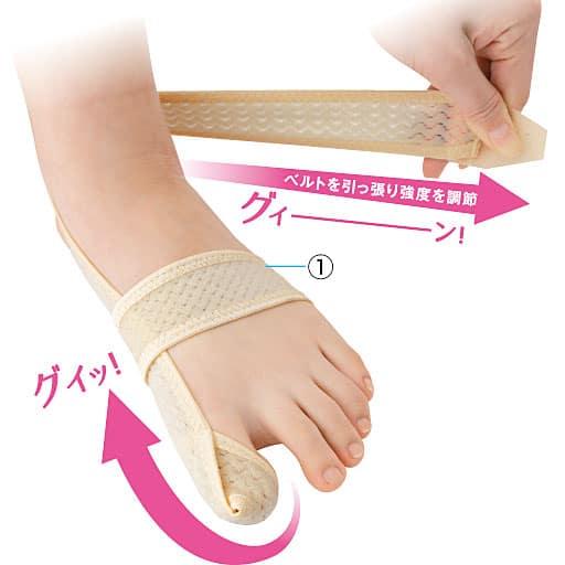 足指ベルト(1枚) – セシール