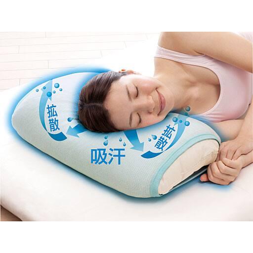 接触冷感ひんやり枕カバー – セシール