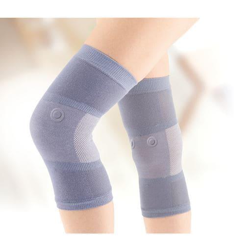 磁気治療器 寝ながら膝楽サポーター(2枚組) – セシール