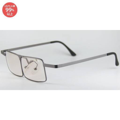 メタルフレームのメガネ型拡大鏡 - セシール