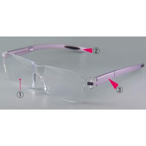メガネ型拡大鏡 ズームシニアグラスファイン – セシール