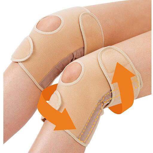 膝関節ベルト かるがる膝べルト - セシール