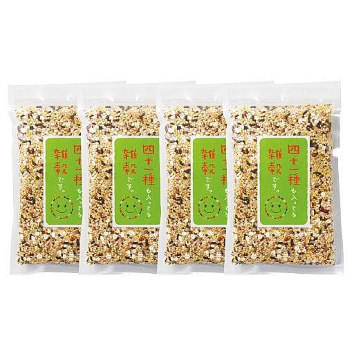 四十一種も入ってる雑穀です。(300gx4袋) - セシール