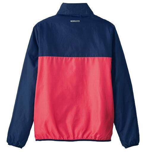 <セシール>【メンズ】 撥水ポケッタブルジャケット(ケイパ) <サイズ>L、5L、M、3L、LL <カラー>ブルー