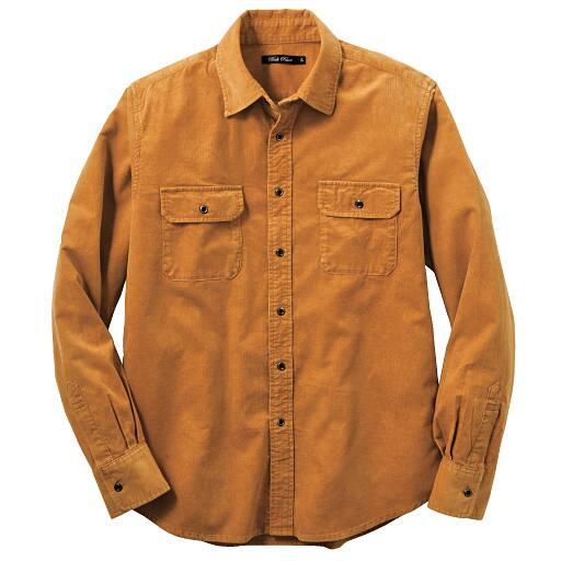 【SALE】 【メンズ】 アンティーク加工コーデュロイシャツ – セシール