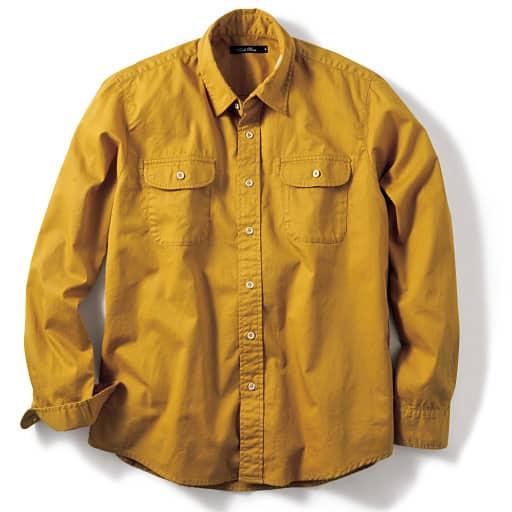 【SALE】 【メンズ】 アンティーク加工カジュアルシャツ – セシール