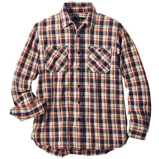 【SALE】 【メンズ】 ヘビーフランネルシャツ – セシール