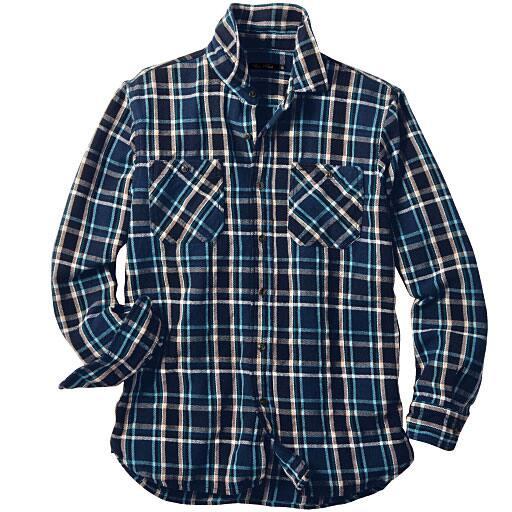 【SALE】 【メンズ】 ヘビーフランネルシャツ