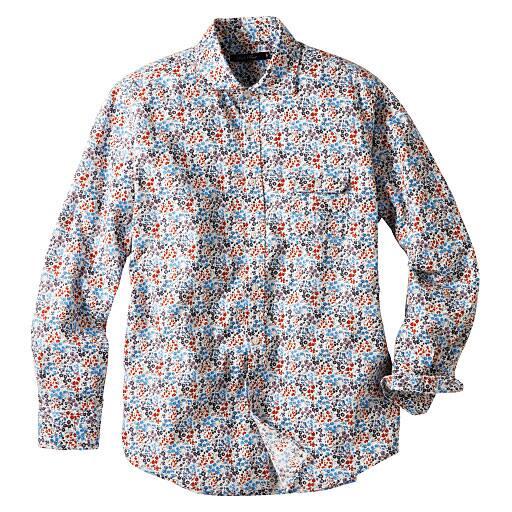 【SALE】 【メンズ】 プリントカジュアルシャツ