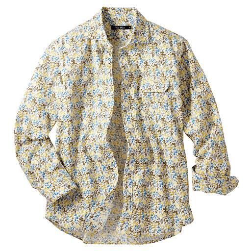 【SALE】 【メンズ】 プリントカジュアルシャツ – セシール