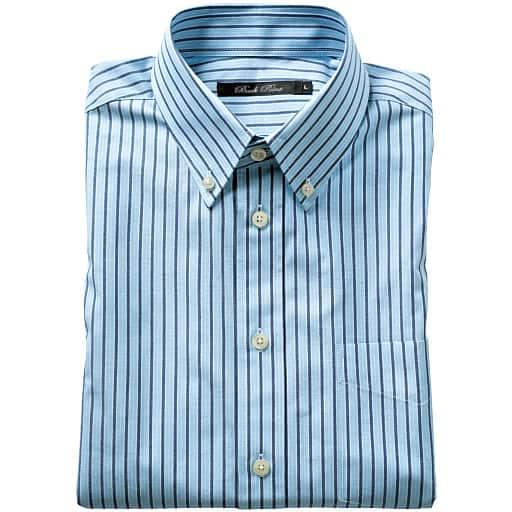 【SALE】 【メンズ】 先染めカジュアルシャツ(長袖)