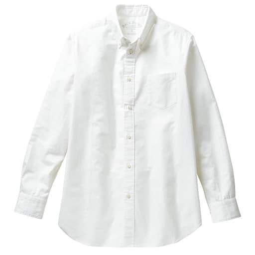 【メンズ】 オックスフォードボタンダウンシャツ(長袖) – セシール