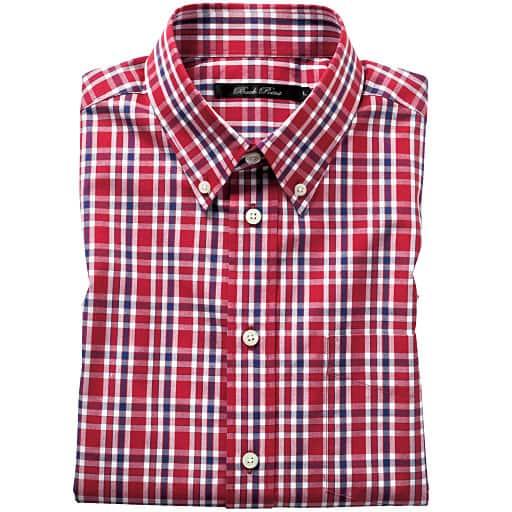 【SALE】 【メンズ】 先染めカジュアルシャツ(半袖) – セシール