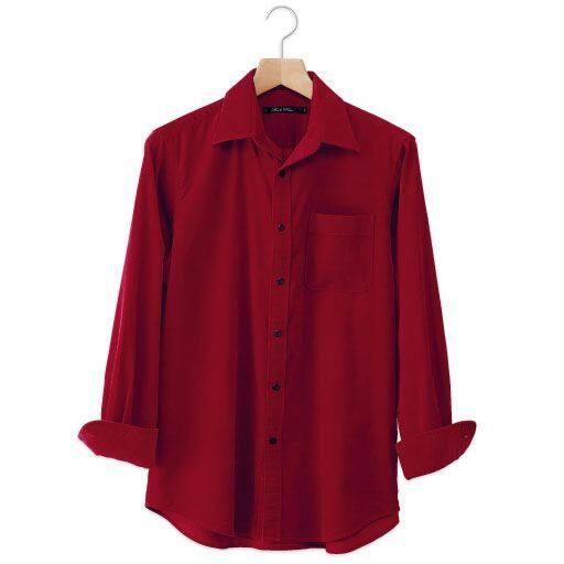 【SALE】 【メンズ】 綿100%コーデュロイシャツ