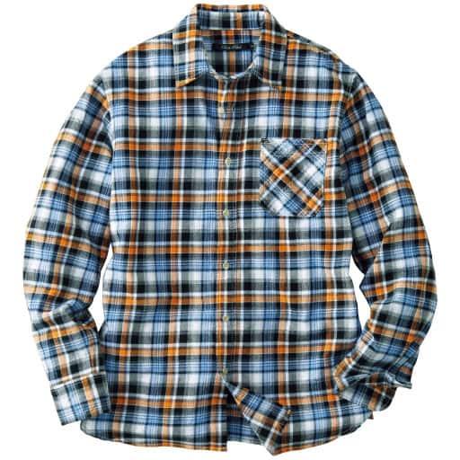 【メンズ】 綿100%チェック柄ツイルシャツ – セシール